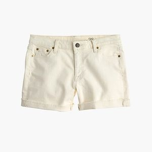 J. Crew denim short ecru wash size 27